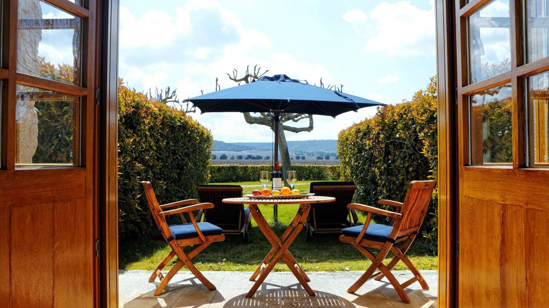 El hotel Abadía Retuerta Le Domaine, lujo con viñas. (Cortesía)