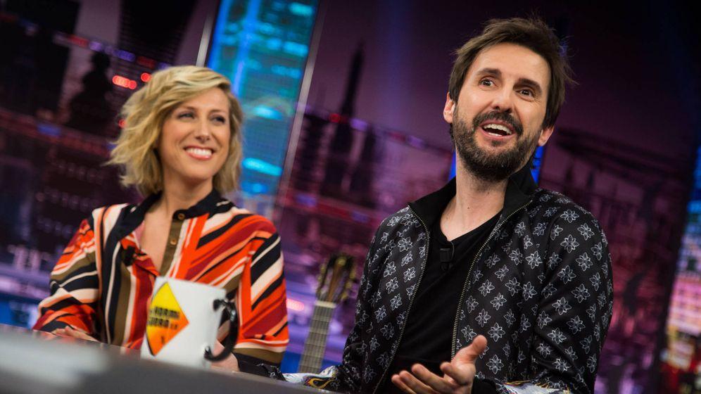 Foto: Cecilia Freire y Julián López en 'El Hormiguero'. (Antena 3)
