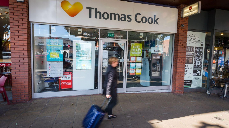 Una agencia de Thomas Cook en Londres (Reuters)