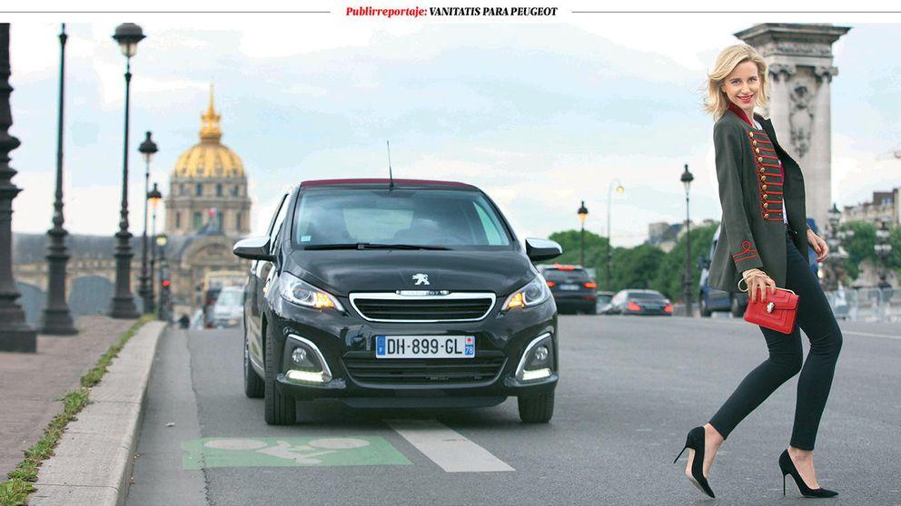 María León nos enseña París a bordo de su Peugeot 108