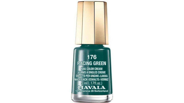 Esmalte verde esmeralda de Mavala.