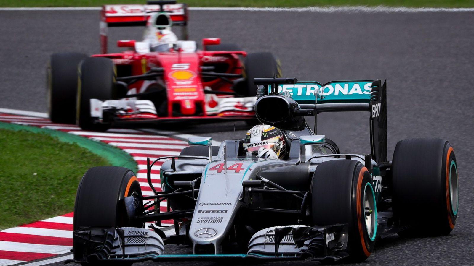 Foto: Lewis Hamilton en el pasado gran premio de Japón.
