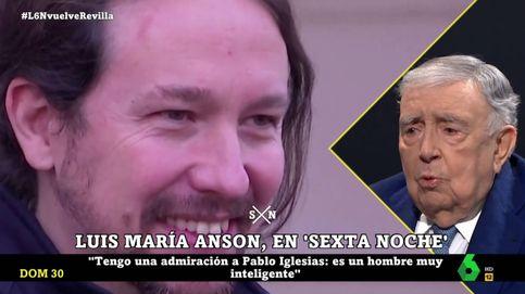 Luis María Anson, en 'La Sexta noche': Pablo Iglesias dio ejemplo al dimitir