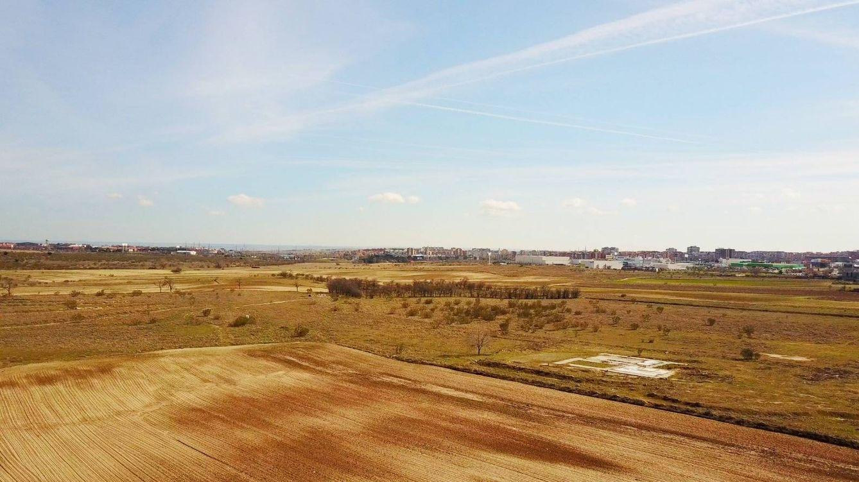 Foto: Los terrenos del Ensanche Norte en Alcorcón
