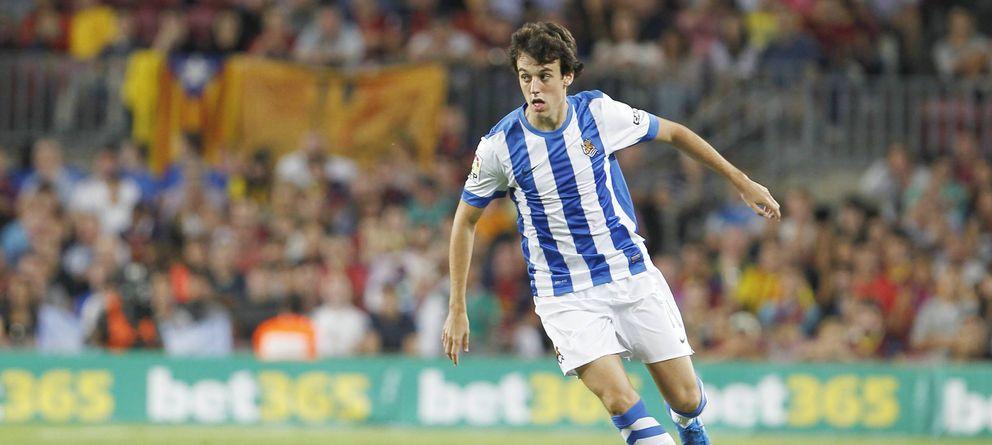 Foto: Rubén Pardo se ha convertido en un fijo en la Real Sociedad (Imago).