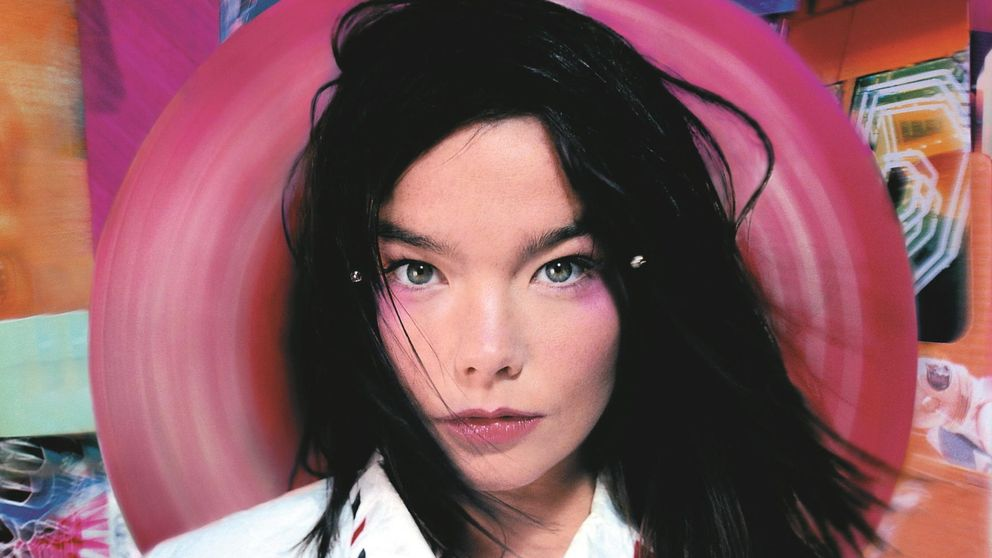 Björk, una de merchandising en el MoMA