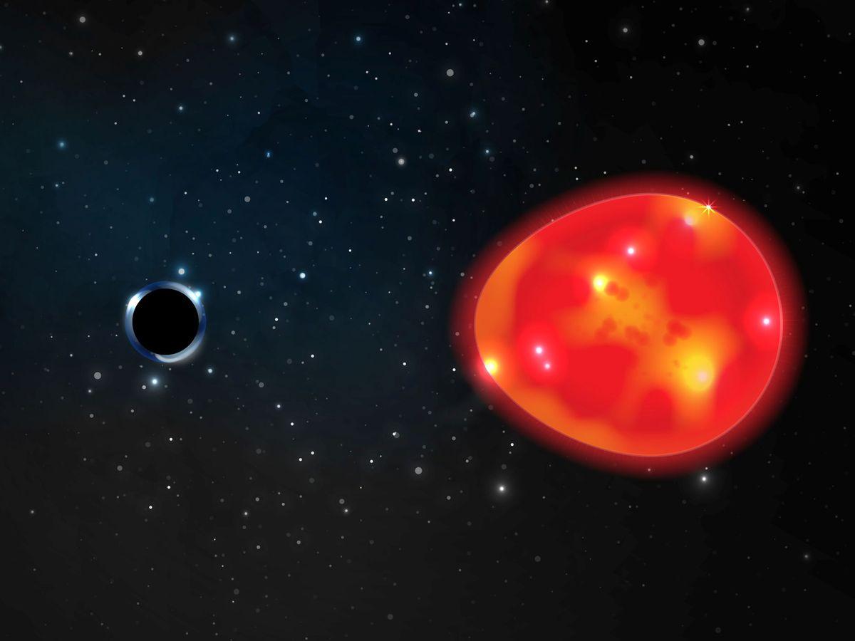 Foto: Por primera vez se ha podido ver lo que hay en el lado más alejado del agujero negro. (Reuters)