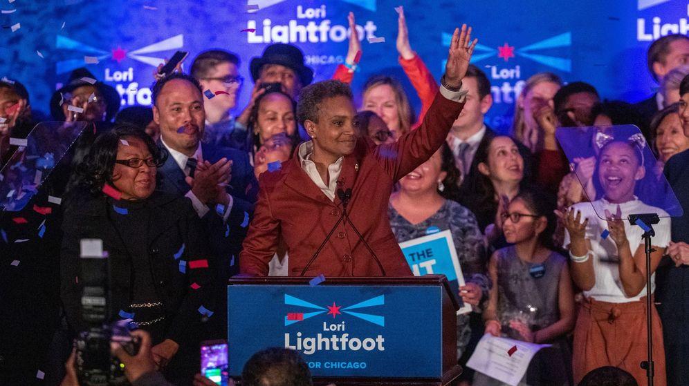 Foto: Lori lightfoot, elegida como alcaldesa de Chicago (Reuters)