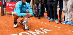 Post de Rafa Nadal doblega a Novak Djokovic en la final del Masters 1.000 de Roma