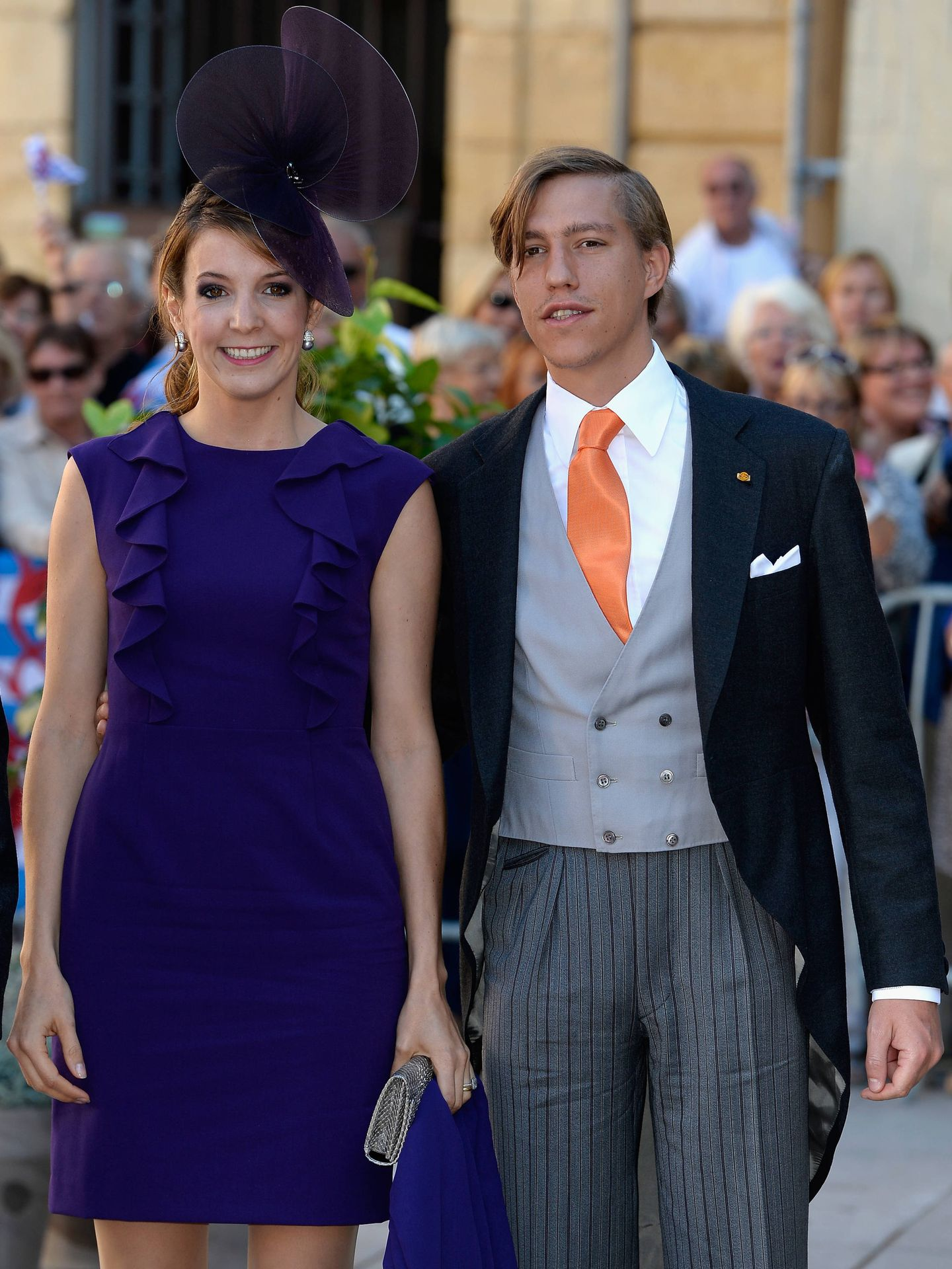 Tessy y Louis de Luxemburgo, en 2013.  (Getty)