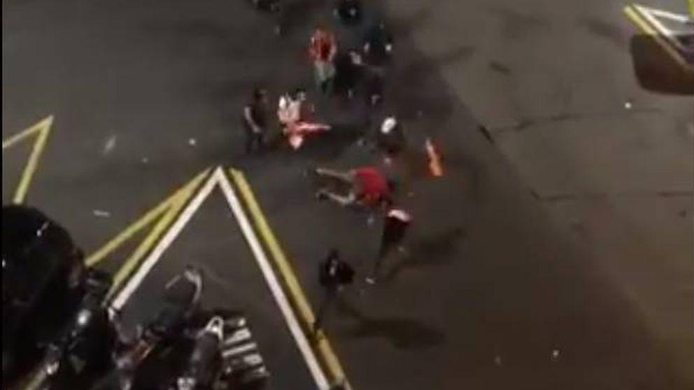 Detenido un tercer ultra por la paliza a un antifascista durante los disturbios