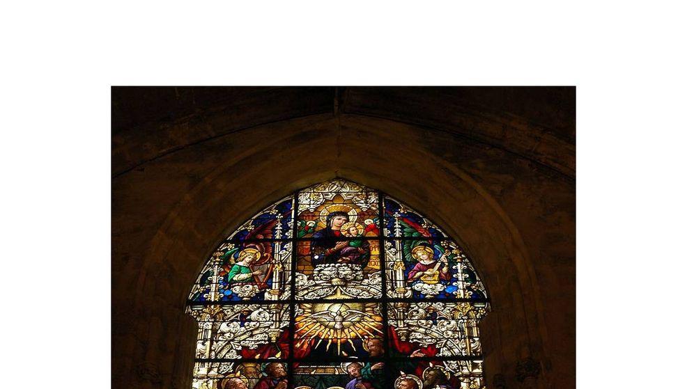 Foto: Vidriera de la Catedral de Segovia. (C.C.)