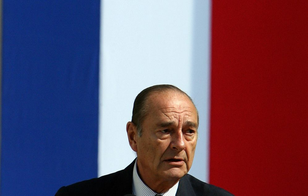 Foto: El expresidente de Francia Jacques Chirac durante un discurso en una ceremonia en Tours, Francia, el 29 de junio de 2006. (Reuters)