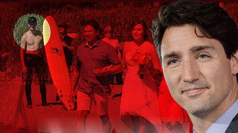 La foto del primer ministro canadiense, Justin Trudeau, que ha causado furor