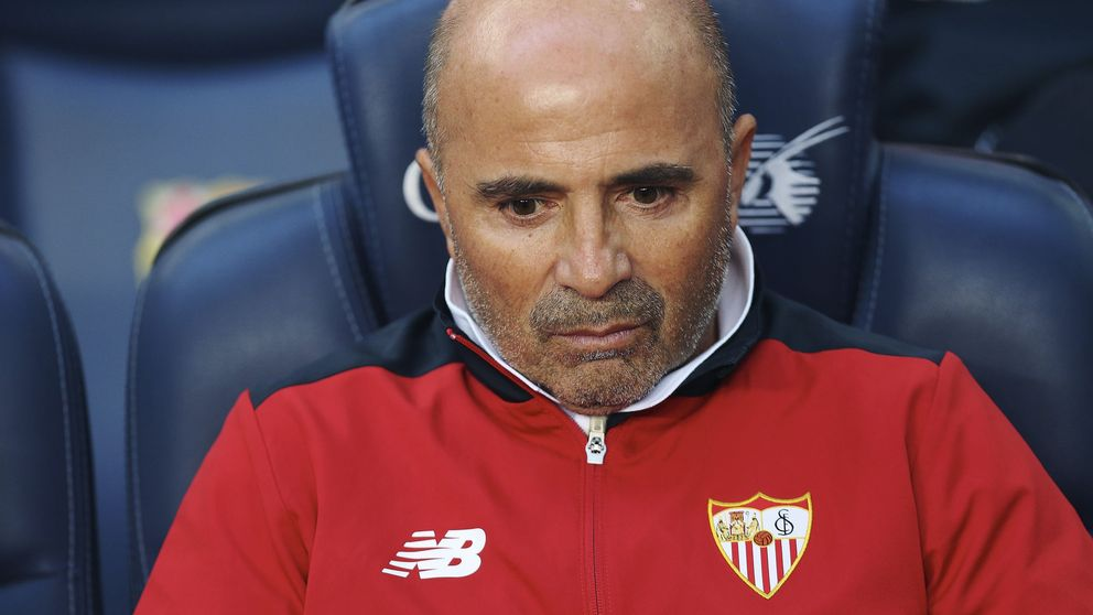 Jorge Sampaoli ya tiene listas las maletas para abandonar el Sevilla