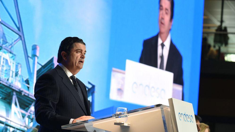 Foto: Borja Prado, cuando todavía era presidente de Endesa. (EFE)