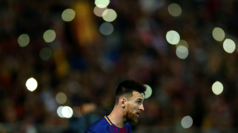 Foto: Leo Messi durante su partido frente al Girona. (EFE)