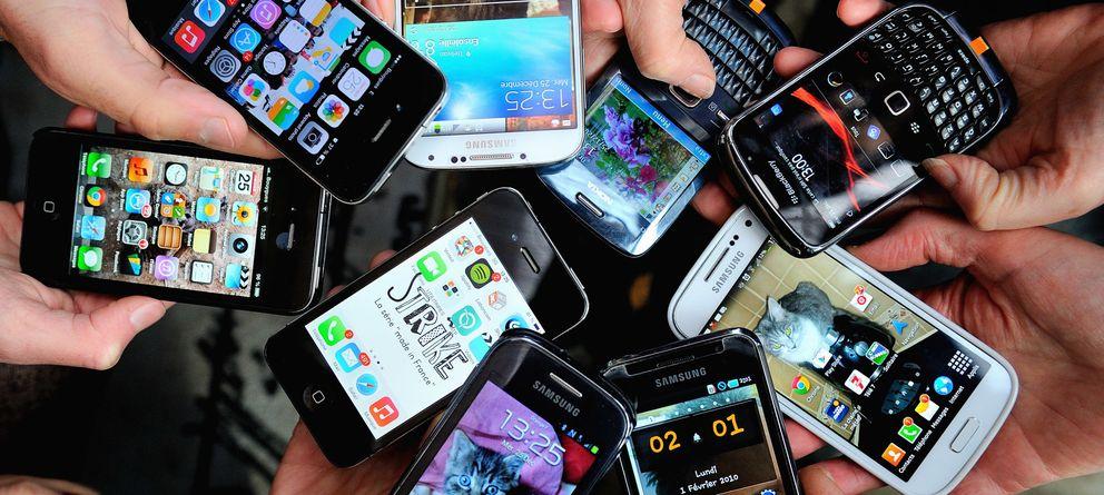 Foto: La clase media también se extingue en los 'smartphones'