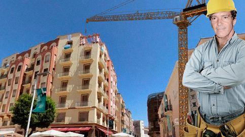 Antonio Banderas se construye un palacete en Málaga