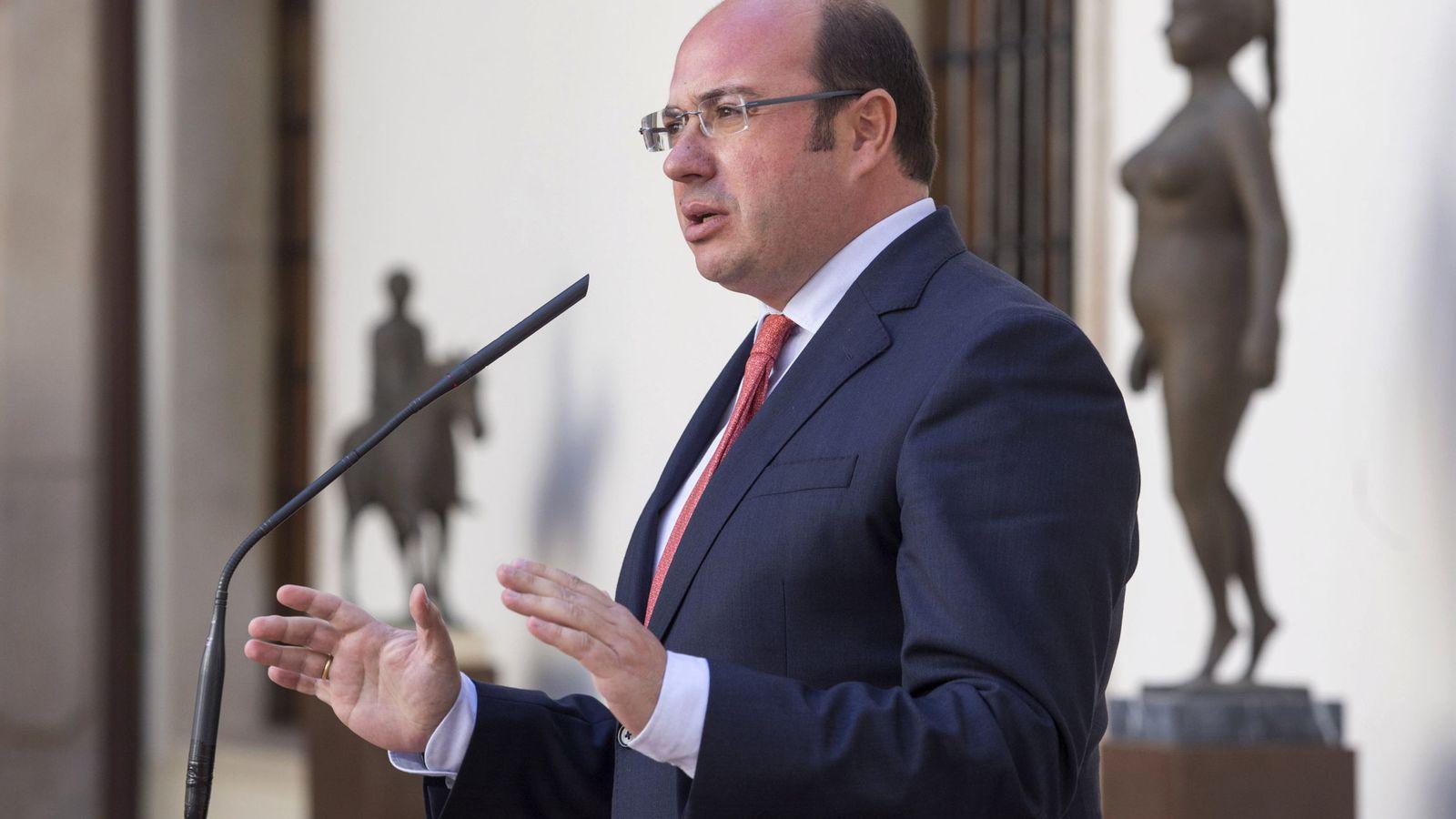 Foto: El presidente de la Comunidad de Murcia Pedro Antonio Sánchez. (Efe)