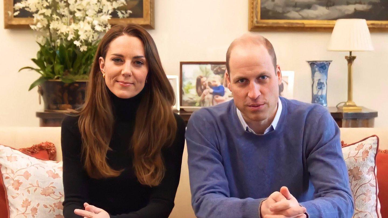 Los duques de Cambridge, en un vídeo de la campaña 'Time to Change'.