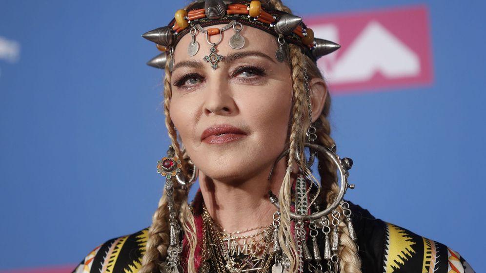 Foto: Madonna en los MTV Video Music Awards (Reuters)