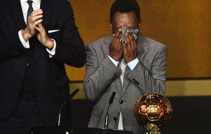 La FIFA hace justicia con Pelé y le otorga el Balón de Oro honorífico
