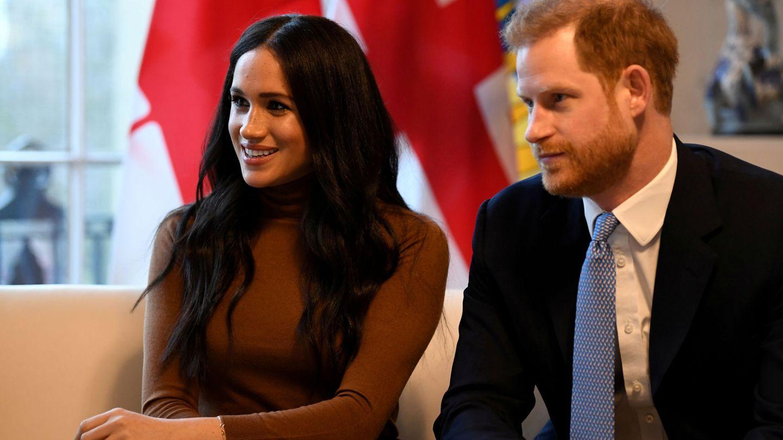 El príncipe Harry y Meghan Markle, en su última aparición oficial conjunta. (Reuters)