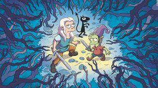 El '(Des)encanto' de Matt Groening flojea en Netflix... salvo que aguantes hasta el final