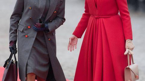 Así fue el primer 'duelo de estilo' entre Matilde de Bélgica y Brigitte Macron