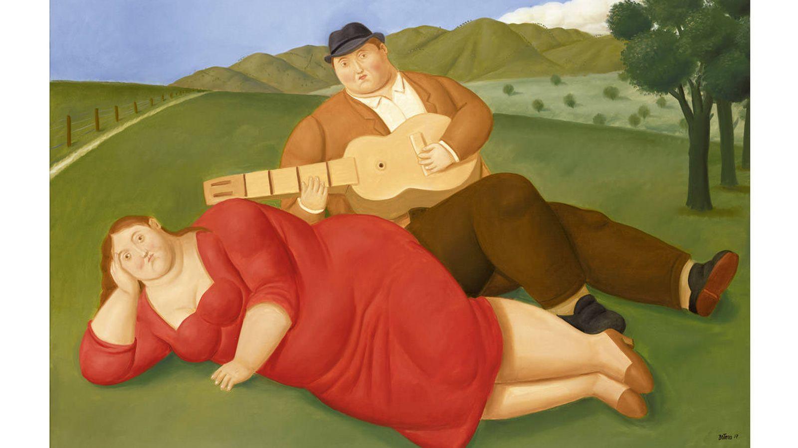 Arte Fernando Botero Vuelve A Madrid Y Expondrá Sus Obras Más Recientes