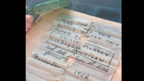 Encuentran un mensaje en una botella de 1926 y dan con la hija de quien lo escribió