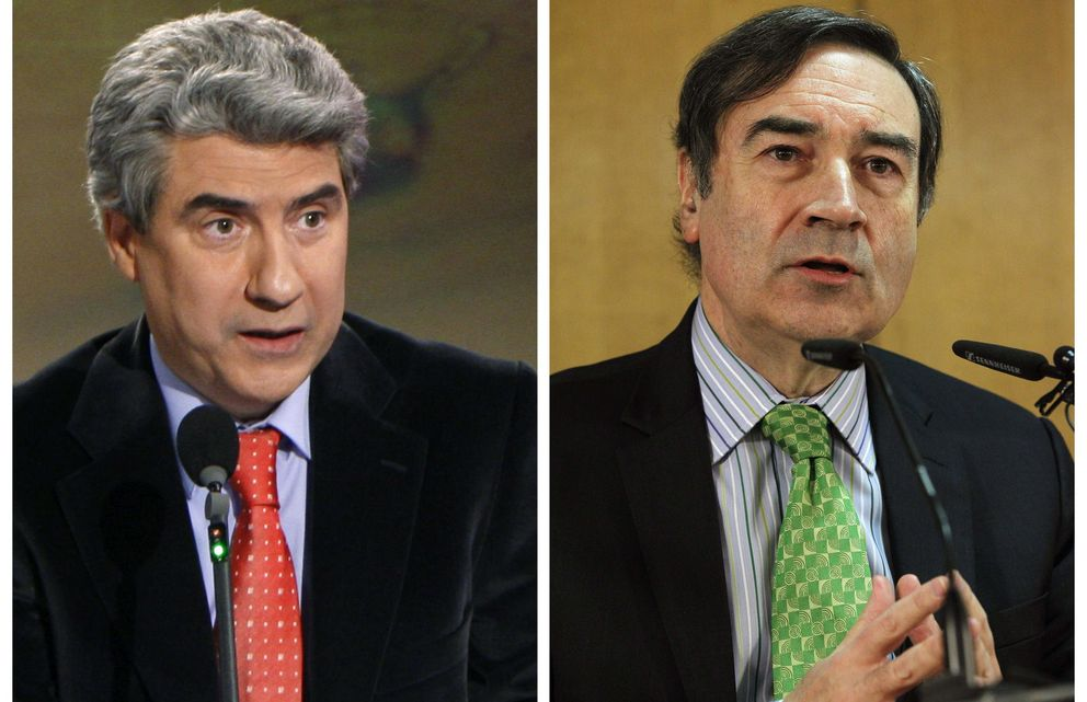 Pedro J. Ramírez y Casimiro García Abadillo. (EFE)