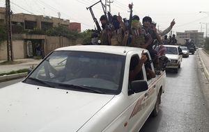 Los yihadistas del ISIS combaten a 60 kilómetros de la capital de Irak