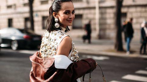 14 vestidos cortos estampados con flores para tus noches de otoño