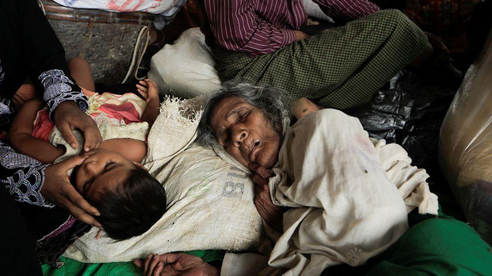 Foto: Refugiados 'rohinyá' en un campamento de Cox's Bazar, en Bangladesh | Reuters