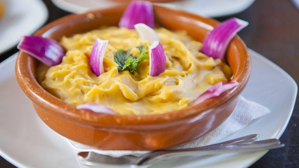 Foto: Gofio escaldado, plato típico canario. (iStock)