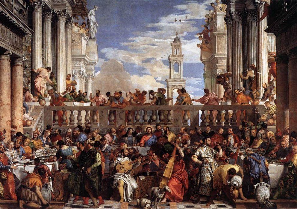 Foto: 'Las bodas de Caná', del Veronés, de 1563.