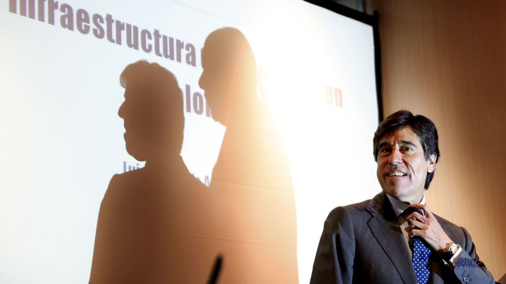 Foto:  El presidente de SACYR, Manuel Manrique (Efe)