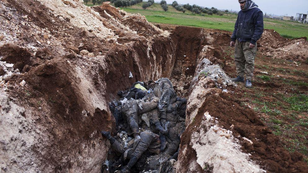Los cadáveres del ISIS se pudren en Kobane