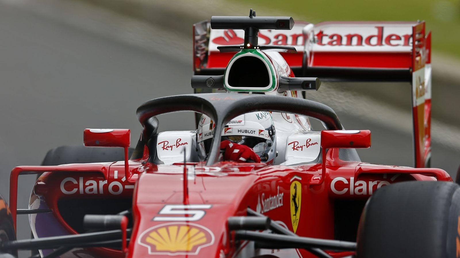 Foto: El halo será obligatorio en la F1 esta temporada. (Reuters)