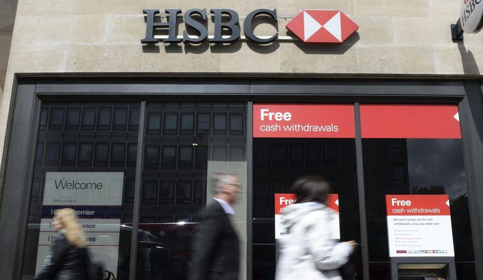Oficina de HSBC. (Reuters)