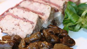 Un sabor con toque francés: Terrina de pato
