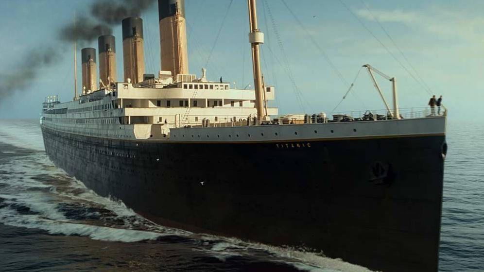 Foto: Fotograma de la película 'Titanic'.