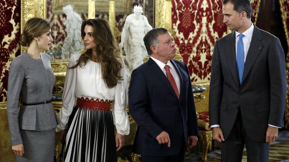 La visita de los reyes de Jordania a España, en imágenes