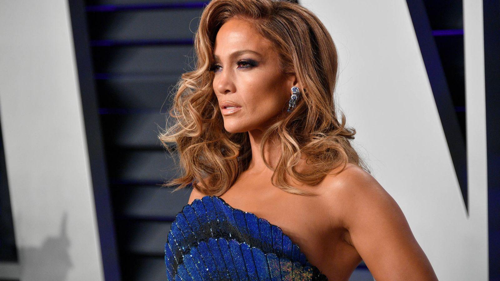 Foto: Jennifer Lopez en la fiesta de 'Vanity Fair' de 2019. (Getty)
