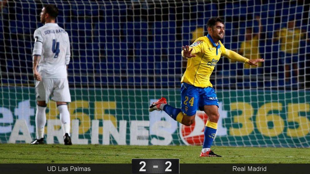 Un exhuberante Roque Mesa y Tana devoran el atrevimiento de Zidane