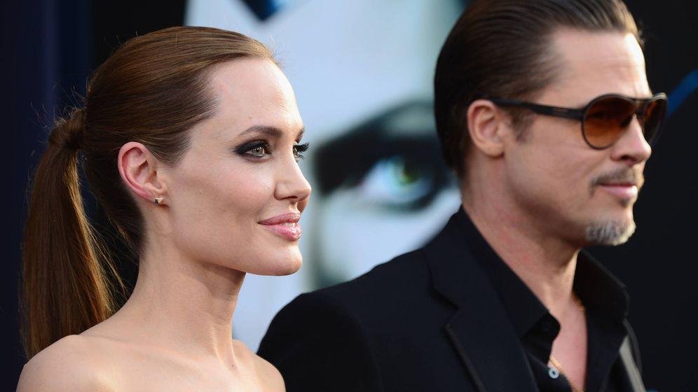 Foto: Jolie y Pitt en una foto de archivo durante el estreno de 'Maléfica'. (Getty)