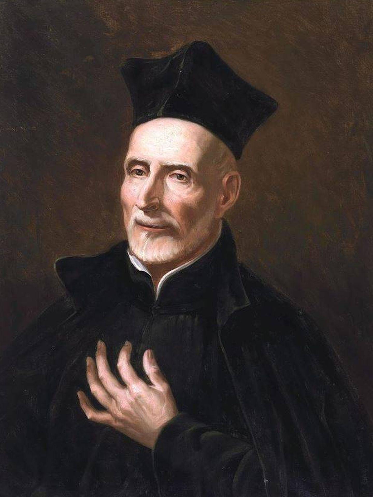 Retrato de San José de Calasanz, de Francisco Jover y Casanova. (C.C.)