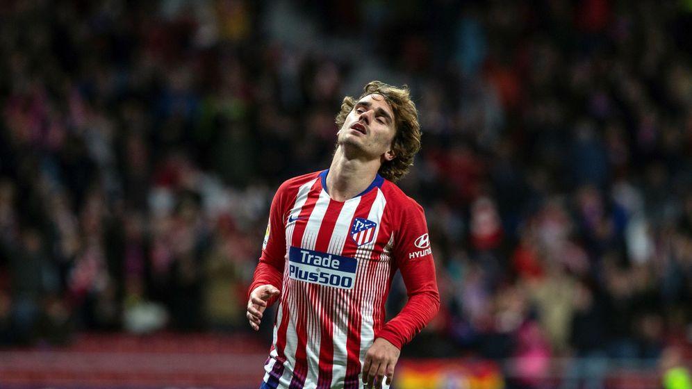 Foto: Antoine Griezmann no ha marcado nunca en el Camp Nou. (EFE)